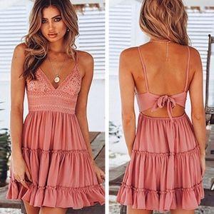 SARAH Cami Dress - PINK